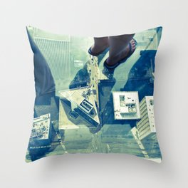 The Real Skybox Throw Pillow
