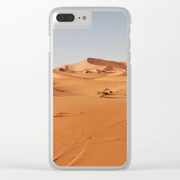 Sand Dune Clear iPhone Case