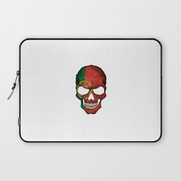 Exclusive Portugal skull design Laptop Sleeve