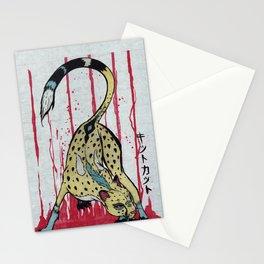 CMYK Cheetah Stationery Cards