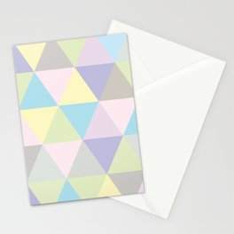 PASTLE GEOMETRIC Stationery Cards