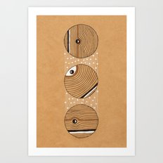 Three Circles Art Print