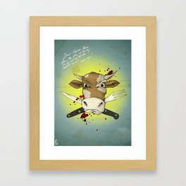 Dear Human Race... Framed Art Print