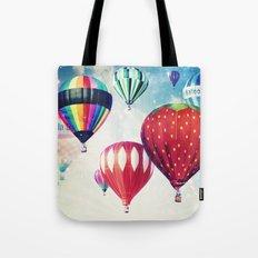 Dreaming of Hot Air Balloons Tote Bag