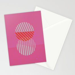 Two Circles Stationery Cards