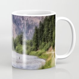 Rock Creek - Montana Coffee Mug