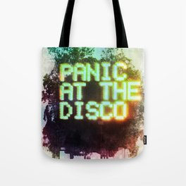 panic! at the disco (Duluth, GA Atlanta April 12, 2017) Tote Bag
