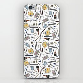 Painter's Supplies - Clear iPhone Skin