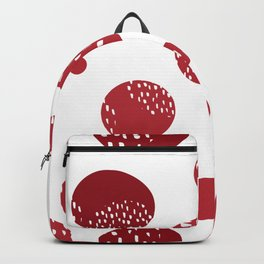 Abstract design with circles Backpack