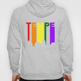 Tempe Arizona Gay Pride Rainbow Skyline Hoody