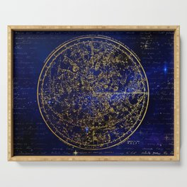 Star Map - City Lights Serving Tray