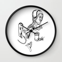 Lady of Dismissal and of Prayer Wall Clock