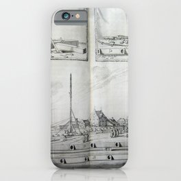 Johannes Hevelius - Celestial Devices, Part 1 - Plate 4 iPhone Case