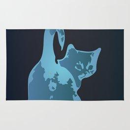 Cat Blues Rug