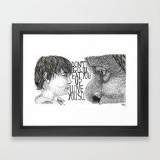 Wild Things Framed Art Print