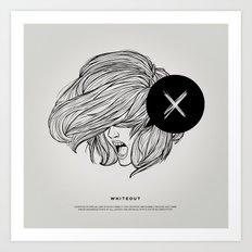 STV - Whiteout Art Print