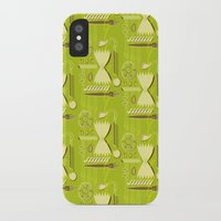 pasta iPhone & iPod Cases featuring Pasta Pattern by Zoe Lotus