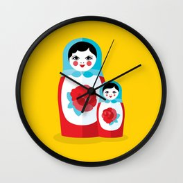 Mother & Daughter Wall Clock