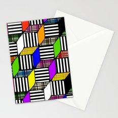 Plaid Steps Stationery Cards