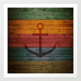Anchor 1 Art Print