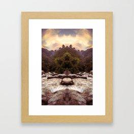 Kaleidoscape: Xela Framed Art Print
