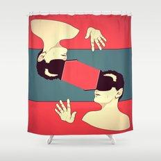The Rift Shower Curtain