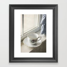 Momma's Fine China Framed Art Print
