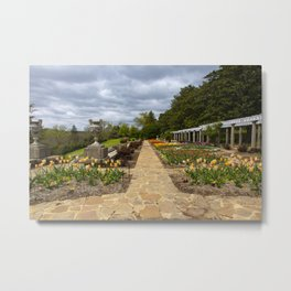 Italian Garden at Maymont Metal Print