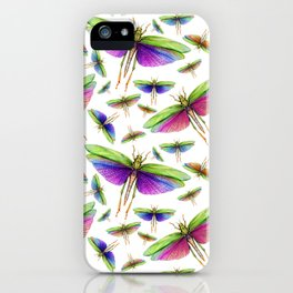 Colorful Insects iPhone Case