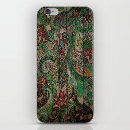 Kashmir on Wood 05 iPhone Skin