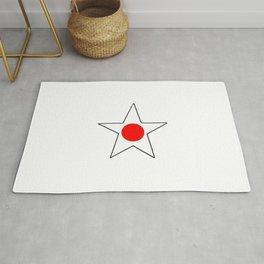 Flag of japan 4 Rug