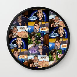 New Who Wall Clock