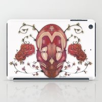 in the flesh iPad Cases featuring Flesh&Roses by AP Illustration