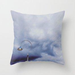 Lamp Post Throw Pillow
