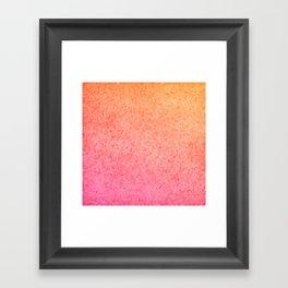 Sea Glass ~ Coral Framed Art Print