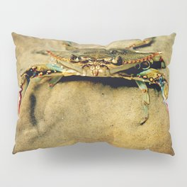 Blue Crab Pillow Sham