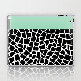 British Mosaic Mint Boarder Laptop & iPad Skin