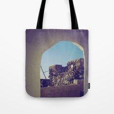 Santorini Walkway IV Tote Bag