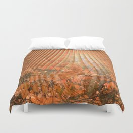 Shimmering Nature's Magic Duvet Cover