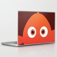 finding nemo Laptop & iPad Skins featuring PIXAR CHARACTER POSTER - Nemo - Finding Nemo by Marco Calignano