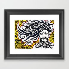 Accidenti Framed Art Print
