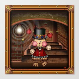 Steam Punkie Canvas Print