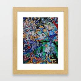 Reindeer Magic Framed Art Print