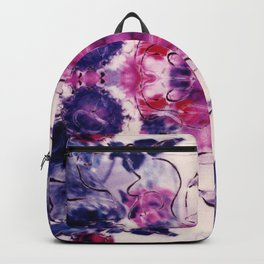 Wine & Flowers Photographic Pattern #1 Backpack
