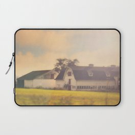 Morning At The Dairy Laptop Sleeve