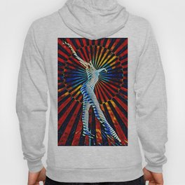 74440-MM_2352 New Op Art Nude Woman Attuning the Universe Powerful Colorful Creative Energy Hoody