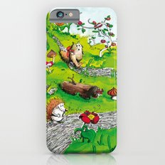 Animals wood iPhone 6s Slim Case