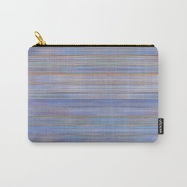Colorful Abstract Stripped Pattern Carry-All Pouch