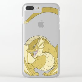 Gold Amphithere Clear iPhone Case