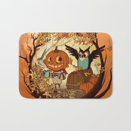 Fall Folklore Bath Mat